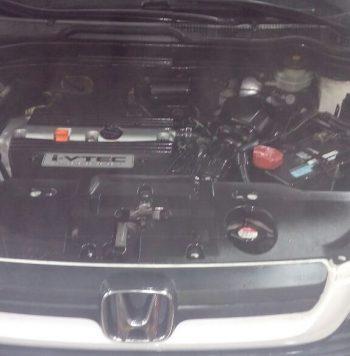 Honda Cr-V 2009 en Villa Lucre, Panamá Se vende SUV Honda Cr-V 2009, bien cuidado. Transmisión automática, tracción delantera, 138000 recorridos, motor 2.4 litros, combustible gasolina, color blanco.